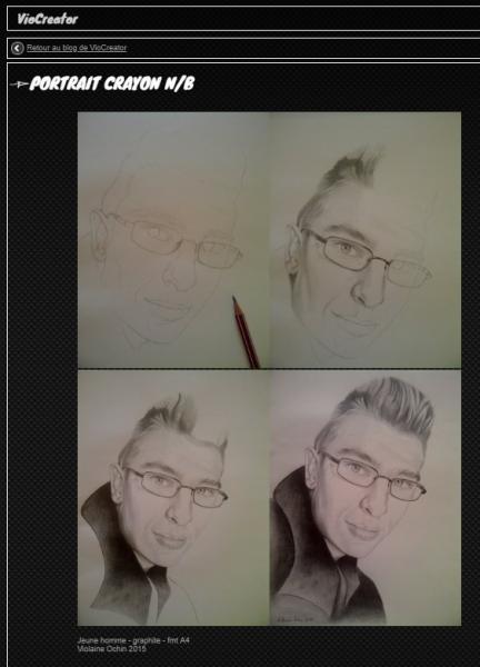 Portrait ecran