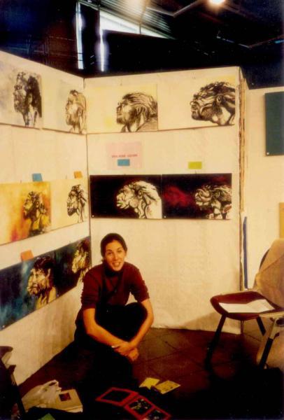 Vio expo Salon es Arts Laudun 1999