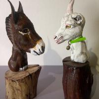 Anes & chèvres