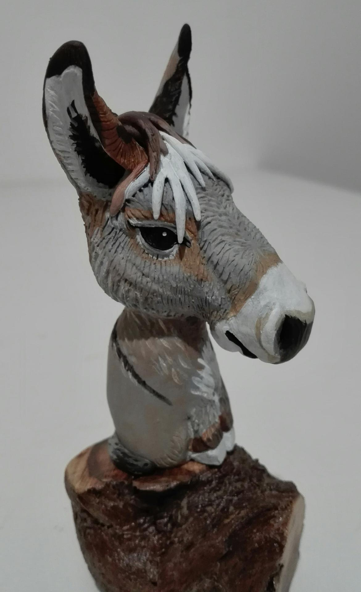 GALOPIN , l'âne blond vénitien