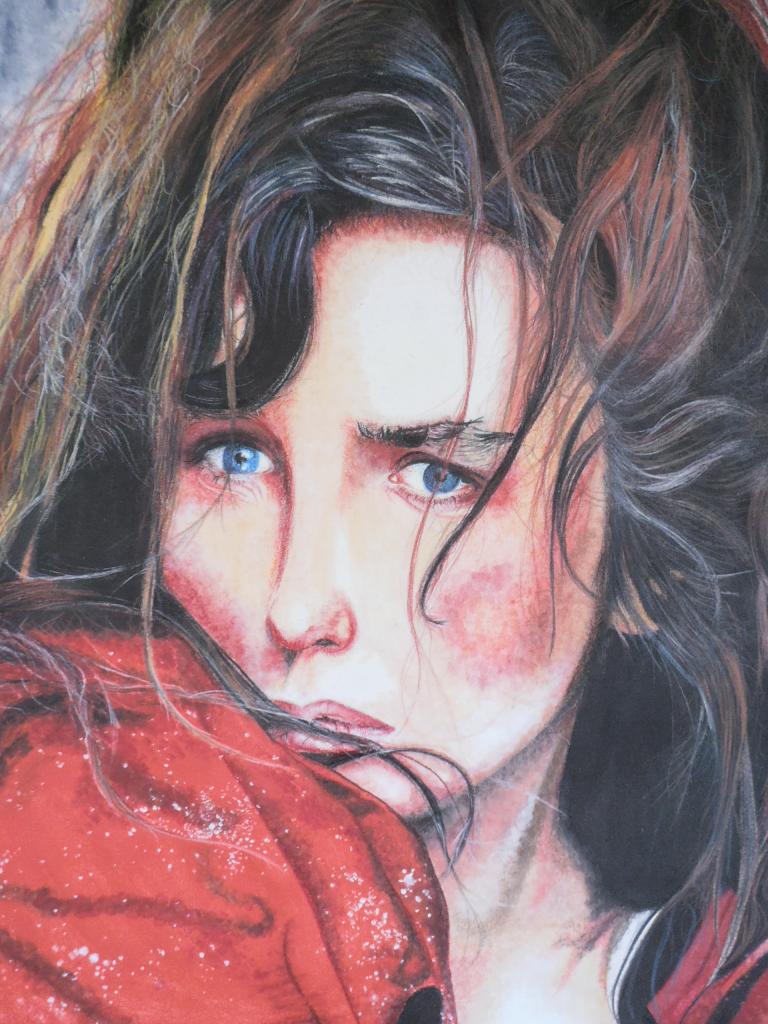 Détail Isabelle Adjani dans