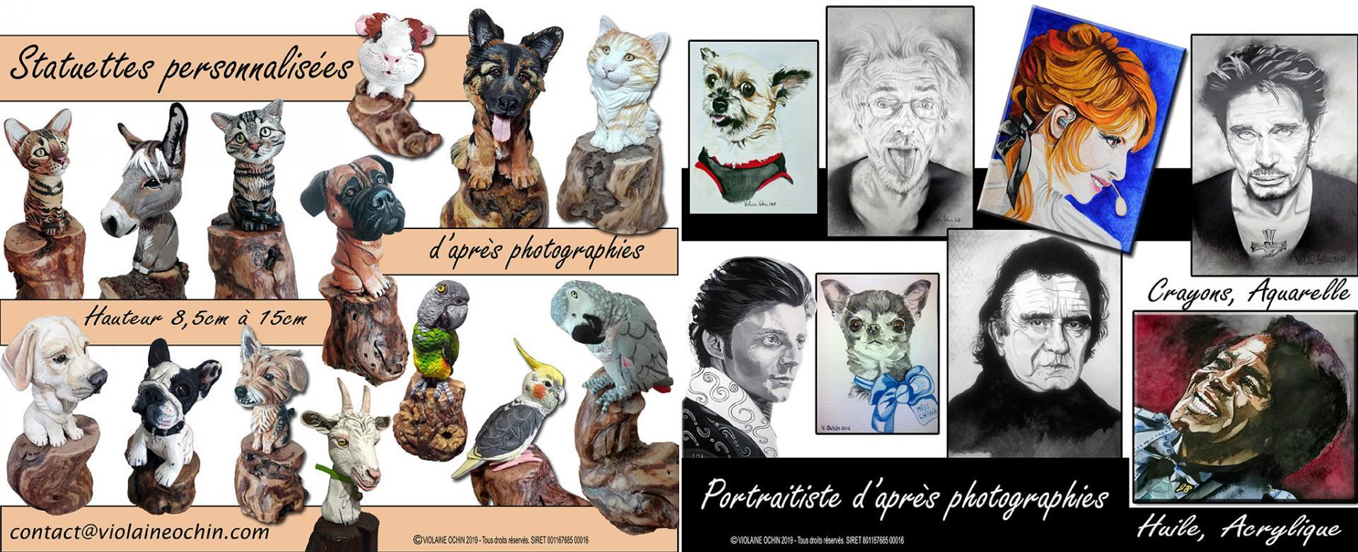 Violaine Ochin - Artiste Animalier